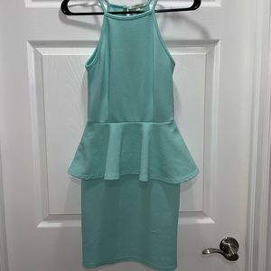Charlotte Russe Turquoise Dress